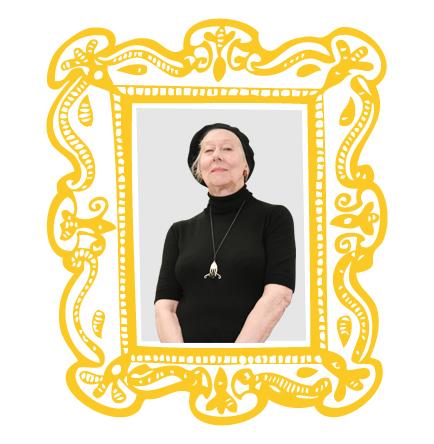 Sheila, framed
